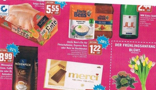 [HIT bundesweit 18. und 19. März] Diverse Uncle Bens Produkte für 0,22€ (Angebot+ Coupon)