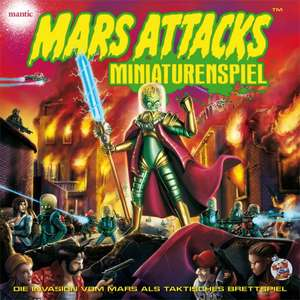 Brettspiel Mars Attacks - Miniaturenspiel DELUXE