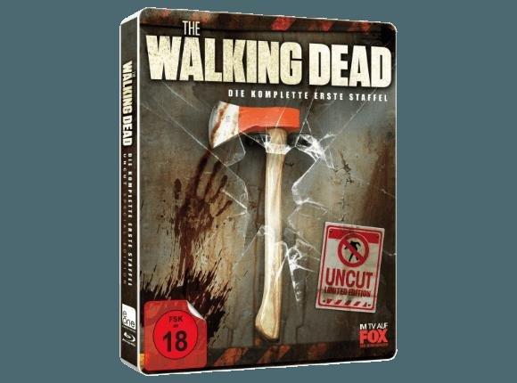 [MM] The Walking Dead Staffel  1 BD Steelbook Axt