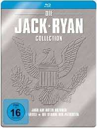 Jack Ryan Collection (3 Discs, Steelbook) [Blu-ray] für 16,97 € > amazon.de > Prime