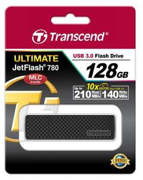 [Amazon.co.uk] Transcend JetFlash 780 128GB USB 3.0 (R.: 210 MB/s & W.: 140 MB/s) für 44,75€
