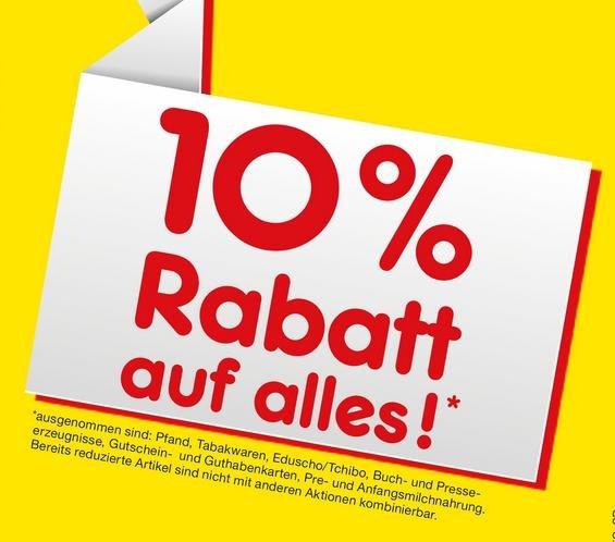 [Lokal Nürnberg] 10% Rabatt auf alles bei Netto am 13.3.2016