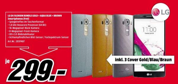 LG G4 fashion bundle für 299,- @ Media Markt Coburg
