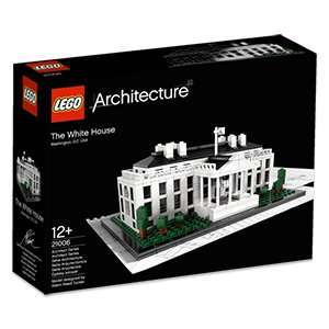 LEGO Architecture 21006 - Das Weisse Haus für 39€, Newsletter 5€ möglich