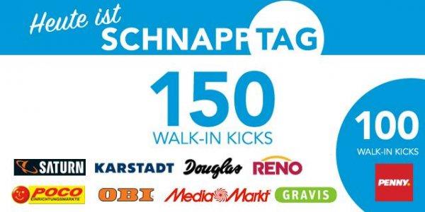 [Bundesweit] Shopkick Schnapp Tag - Allein bis zu 1300 Kicks für Walk Ins