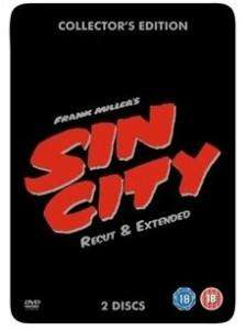 Sin City: Re-Cut And Extended - Collector's Edition Steelbook (2 x DVD) für 6.99€ @ play