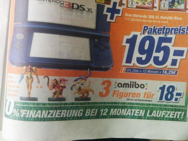 [Expert Klein] 50€ Gutschein für 40€ // 3 Amiibo Figuren für 18,00 € // Xbox One Controller+ Charge Kit 49,00€ // vieles mehr! [UPDATE]