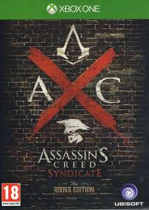 [ Gameware.at ] Assassin's Creed Syndicate Rooks Edition *uncut Xbox 1 + + DLC Ausrüstungs-Set der Zwillinge