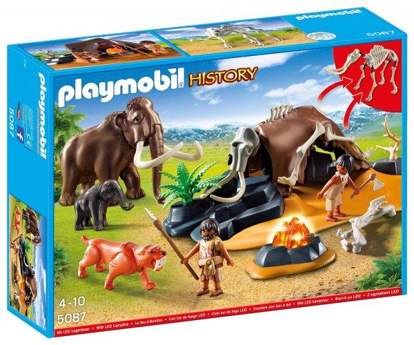 Playmobil 5087 - Steinzeitlager mit Feuer für 6,65€ @amazon