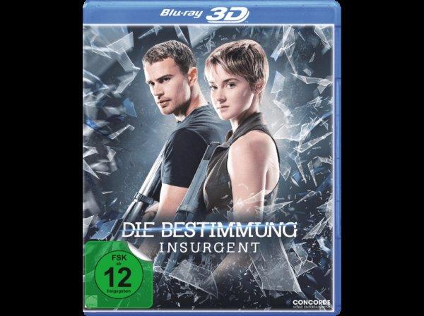 Die Bestimmung - Insurgent - (3D BD&2D BD, Blu-Ray) bei Saturn Online Versandkostenfrei