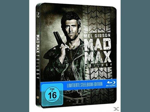 [Saturn Super Sunday] Mad Max Trilogie (Exklusive Steelbook Edition) - (Blu-ray) für 14,99€