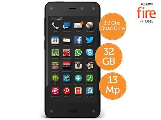 [ibood] (Refurbished Grade A) Amazon Fire Phone 32GB €79 + €5,95 Versand