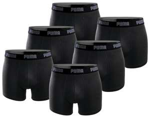 [Amazon] PUMA Herren Boxershort Basic Limited Black Edition 6er Pack