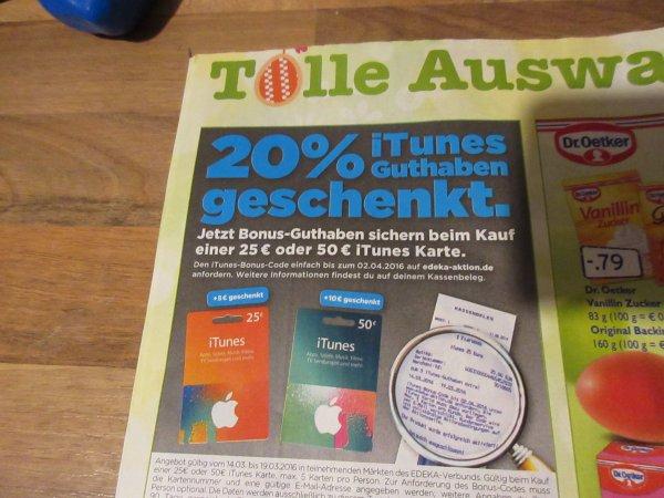 Marktkauf - Mannheim / Weinheim -  iTunes Karten 25%