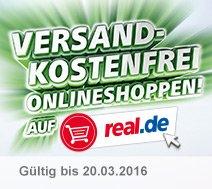 [Real onlineshop] Alles Versandkostenfrei bis zum 20.03.2016
