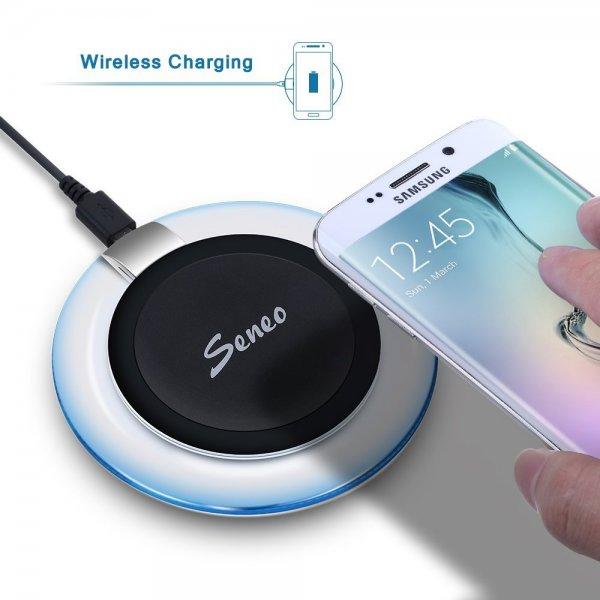 Amazon: Ultra-Slim Wireless-Ladegerät für Samsung Galaxy S6 für 19,99€