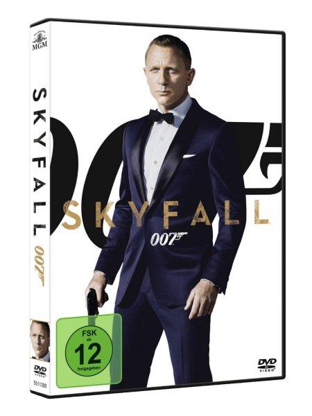 Amazon: James Bond 007 - Skyfall DVD für 5,97€
