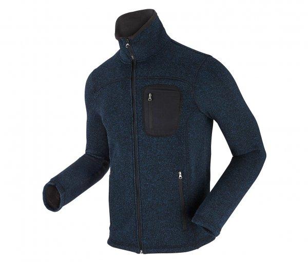 Strickfleece-Jacke in blau (Größen S, M, L, XL) für 19,95€ bei Lieferung in die Filiale @Tchibo Online