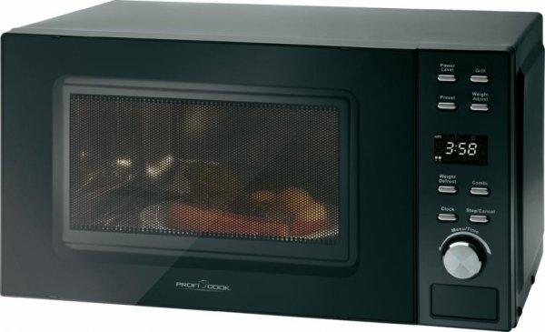 [2% Qipu] Profi Cook Mikrowelle 800 W Grillfunktion PC-MWG 1044 für 54,99€ frei Haus mt Gutschein @Voelkner