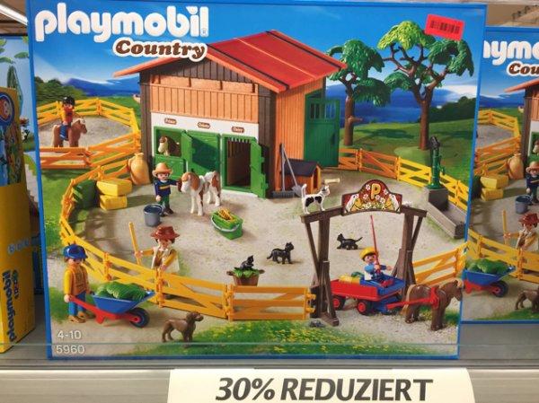 Playmobil Country - Großer Ponyhof(5960) @ Kaufland Schorndorf