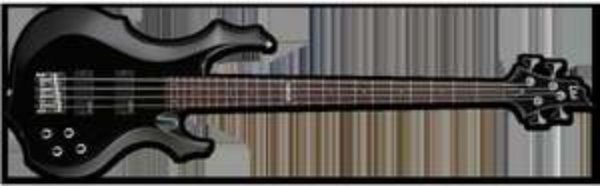 [E-Bass] - ESP - LTD F-104 BK