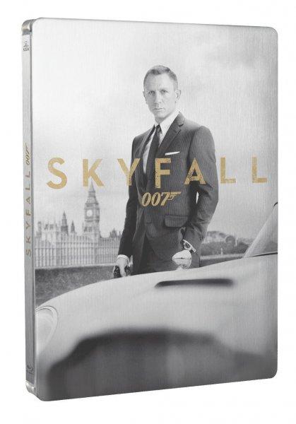 James Bond 007 - Skyfall (Blu-ray + DVD) Steelbook für 18,81€ bei Amazon.fr