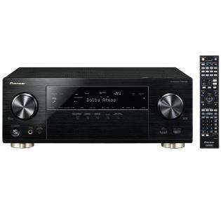 Pioneer VSX-930-K - 7.2 AV-Receiver (165 W/Kanal, Dolby Atmos, WiFi, Bluetooth, Airplay, DLNA, Internetradio, Spotify) + Jamo S 626 HCS Sound System für 749€ bei Redcoon.de