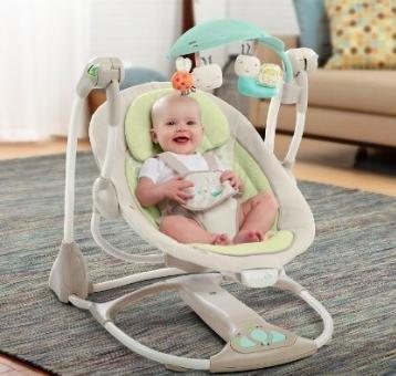 [Amazon] Blitzangebot noch über 2,5h: Bright Starts 60198 Babyschaukel für 86,80€ statt 95,99€