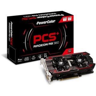 """Grafikkarte PowerColor Radeon R9 380 PCS+, 4GB GDDR5 für 189€ inkl.Versand (Midnight Shopping) UND """"Ashes of the Singularity"""" (PC-Spiel, DX12)"""