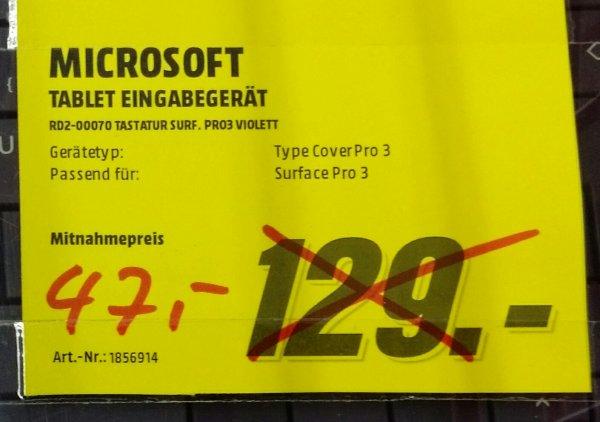 Microsoft Type Cover Pro 3 violett; Waltersdorf/Berlin