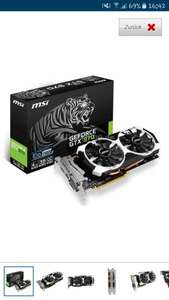 MSI GeForce GTX 970 4GD5T OC, 4096 MB GDDR5