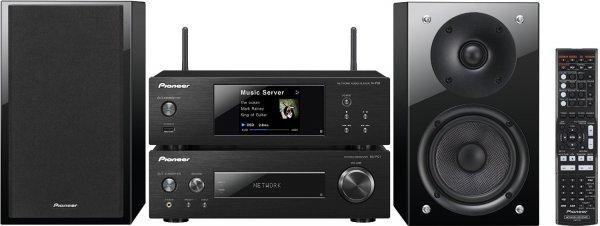 Pioneer P2 Kompaktanlage (Stereo-Receiver, Netzwerk Player, 2x 75 Watt, Direct Energy HD Endstufen, WiFi, Bluetooth) schwarz für 649,- € @Amazon oder silber/weiß @Beamershop24