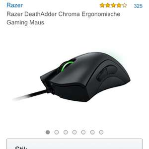 [Amazon Blitzangebot] Razer Deathadder Chroma