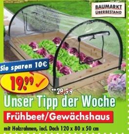 Frühbeet / Gewächshaus 19.99 statt 29.99