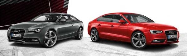Audi A5 bzw. A5 Sportback 2.0 TDI Quattro, Leasing für Gewerbekunden