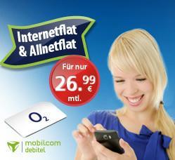 Handyvertrag, Mobilcom Debitel bei Pauldirekt