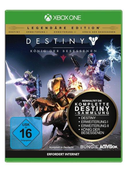 [Xbox-Store Kolumbien] Deals with Gold - Destiny: König der Besessenen Legendäre Edition für umgerechnet 27,41€