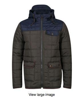 [Zavvi.com] 4h Flash Sale mit 10% extra Rabatt auf Fashion, z.B. Brave Soul Men's Swansea Padded Jacket für 15,80€ inkl. Versand statt ca. 30€