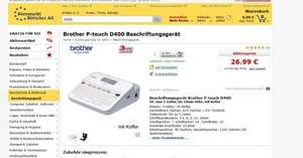 Brother D400VP - billiger als deutschlands bester Preis
