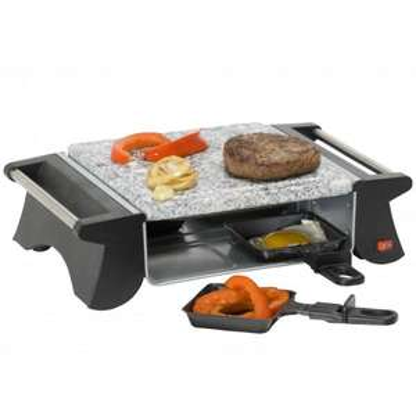 [NBB] TriStar RA-2990 Raclettegrill mit Steingrill-Platte für 4 Personen, 500 Watt für 15,74€