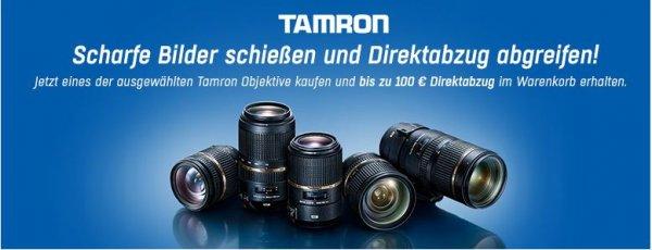 Tamron Sofort-Cashback Aktion [Redcoon]