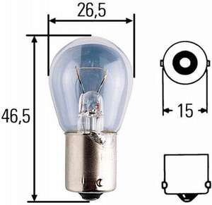 Hella 8GA 002 072-241 Glühlampe ab 0,29 € (amazon Plus)