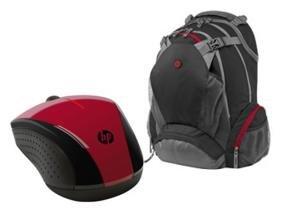 """HP Education Store - HP X3000 Wireless Maus + HP Rucksack für 17,3"""" Notebook für 49,29€"""