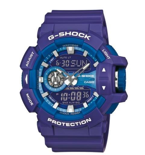 [Uhr.de] Casio G Shock GA 400a 9aer in Violett und Gelb für 53,91€ inkl. VSK statt 99€