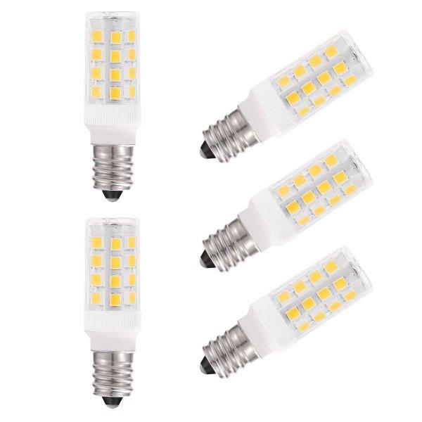 @Amazon: (5er Pack Warmweiß) LOHAS 5W E14 LED Lampen, Ersatz für 40W Halogenlampen, 220-240V, 400lm, 3000K, Globaler 360° Abstrahlwinkel, LED Birnen, LED Leuchtmittel [Energieklasse A+] ab 14,99€ mit Prime