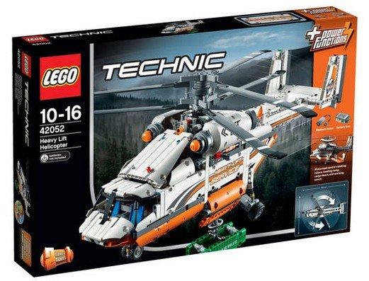 [Galeria Kaufhof] kaufhof.de online: Lego 42052 Technik Schwerlasthubschrauber und Lego Nexo Knights 70317 Fortrex - Die Rollende Festung