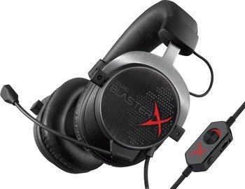 [Mediamarkt Tiefpreisspätschicht] Creative Sound BlasterX H5 analoges Pro-Gaming Headset schwarz  für 88,-€ oder CREATIVE Sound BlasterX H3 Gaming Headset Schwarz, Rot für 49,-€ Auch auf Ebay*Clickcollect*