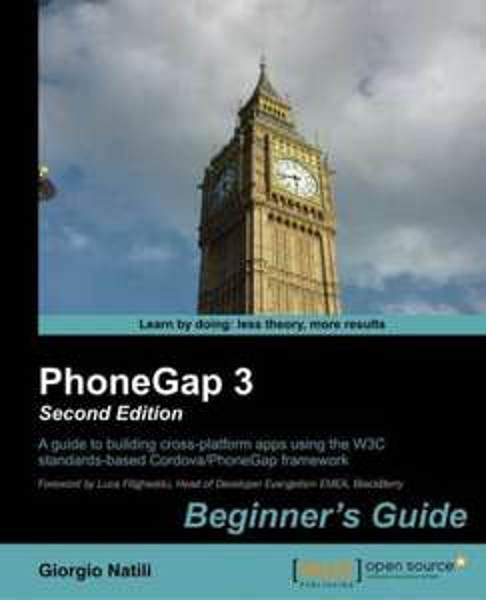 [Packt Publishing] PhoneGap 3 Beginner's Guide - Free eBook über mobile App Entwicklung