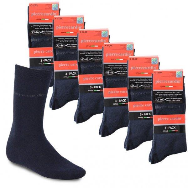 [ eBay wow ] 18 Paar Pierre Cardin Herrensocken Strümpfe Socken Gr. 39-42 & 43-46 NEU