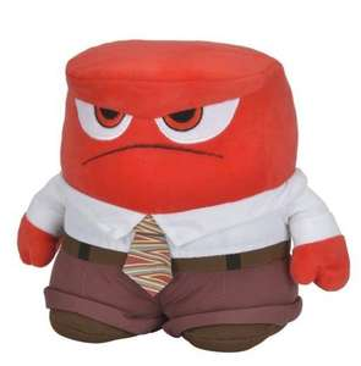 [Amazon Prime] Disney Inside Out - Alles steht Kopf - Anger - Wut - Stoffpuppe, 25 cm für 7,99€ statt 12,99€